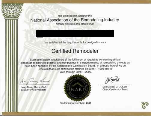 NARI-Certificate pretend full size